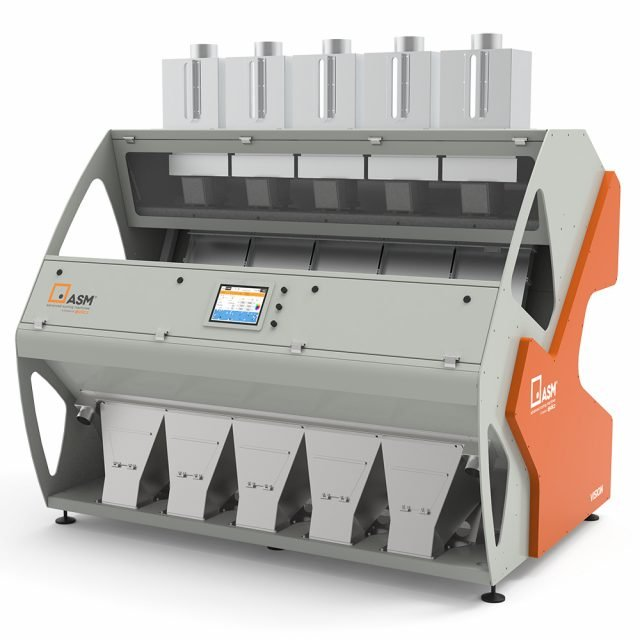 The Vision is a proven and versatile optical sorter.