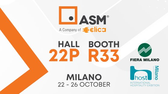 ELICA ASM at the 42nd edition of HostMilano